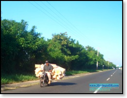 Dominican Republic picture-How to Deliver 1000 Loaves of Bread on a Moto.