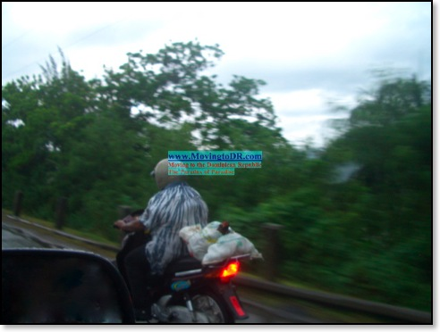 Dominican Republic picture-Chicken on Moto
