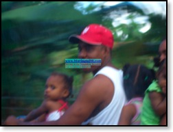 Dominican Republic picture- Family of six fits on a moto